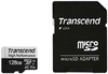 Transcend - 330S 128GB MicroSDXC Class 2 UHS-I Memory Card with SD Adapter