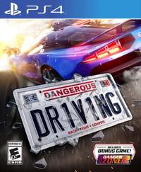 Dangerous Driving (US Import PS4) - Cover
