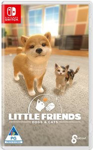 Little Friends: Dogs and Cats (Nintendo Switch) - Cover