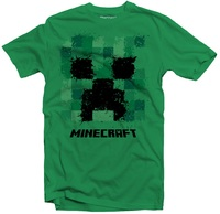 Minecraft - Splatter Creeper - Youth T-Shirt - Green (5 - 6 Years) - Cover