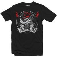Crash Bandicoot - Octane - Men's Tee - Black (Large)