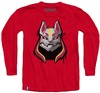 Fortnite - Drift Mask Teen Long Sleeve - Red (15-16 Years) (X-Large)