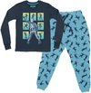 Fortnite - Skull Trooper - Teen Pyjamas - Navy/Blue (11-12 Years) (Medium)