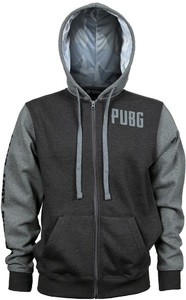 PUBG - Level 3 Hoodie - Charcoal/Grey (Medium) - Cover