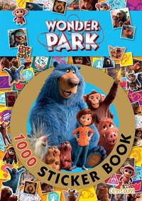 Wonder Park:1000 Sticker Book (Paperback) - Cover