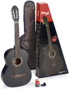 Stagg C440 M 4/4 Classical Acoustic Guitar Pack (Black)