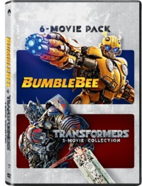 Transformers - 6 Movie Collection (DVD) - Cover