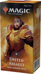 Magic: The Gathering - Challenger Deck 2019 - United Assault (Trading Card Game) - Cover