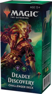 Magic: The Gathering - Challenger Deck 2019 - Deadly Discovery (Trading Card Game)