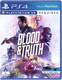 Blood & Truth (PS4) - Cover