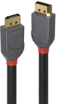 Lindy 3m Displayport 1.4 Cable - Anthracite