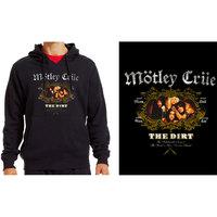 Mötley Crüe - The Dirt Unisex Black Hoodie (Medium) - Cover