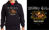 Mötley Crüe - The Dirt Unisex Black Hoodie (X-Large) - Cover