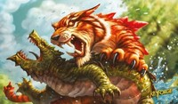 Keyforge - Mighty Tiger Playmat - Cover