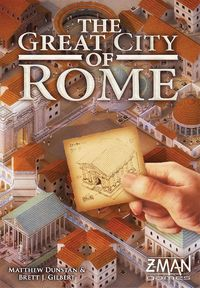 The Great City of Rome (Board Game) - Cover