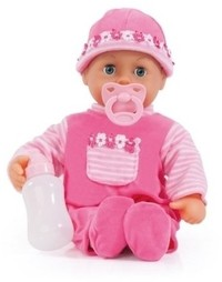 Bayer - First Words Baby Doll - 38cm (Pink) - Cover