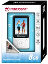 Transcend 8GB MP710 Fitness MP3 Player - White
