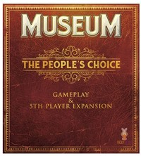 Museum - The People's Choice Expansion (Card Game) - Cover