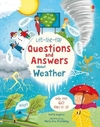 Lift-The-Flap Questions And Answers About Weather - Katie Daynes (Board book)