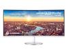 Samsung - C34J791WTU 34 inch UltraWide Quad HD Curved LED Computer Monitor