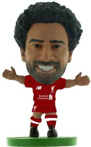 Soccerstarz - Liverpool - Mohamed Salah Home Kit (2019 version) Figure - Cover