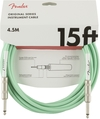 Fender Original Series 4.5m 1/4 Inch Jack Instrument Cable (Surf Green)