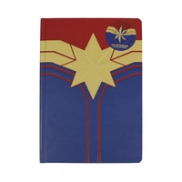 Marvel - Captain Marvel A5 Notebook - Cover