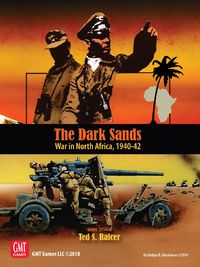 The Dark Sands (Board Game) - Cover