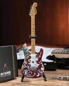 Axe Heaven - Jimi Hendrix Saville Fender Strat Mini Replica (Collectible Mini Instrument)