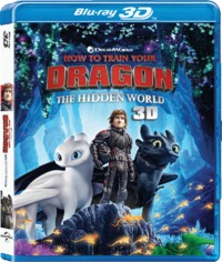 How to Train Your Dragon: the Hidden World (3D Blu-ray) - Cover