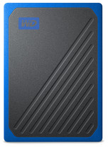 WD My Passport Go Portable SSD 1TB - Blue Trimming