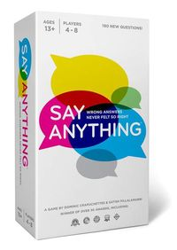 Say Anything - 10th Anniversary Edition (Party Game) - Cover