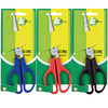 4Office - 170mm Large Office Economy Scissors (Assorted Colours)