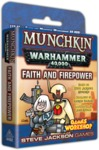 Munchkin - Warhammer 40,000 - Faith and Firepower Expansion (Card Game)