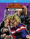 My Hero Academia: Season Three, Part One (DVD) Cover