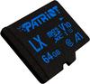 Patriot Memory - LX V10 A1 microSD MicroSDHC Memory Card - 64GB