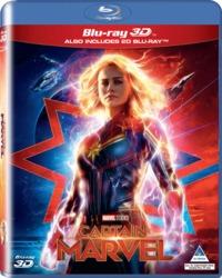 Captain Marvel (3D Blu-ray) - Cover