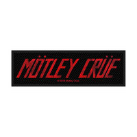Motley Crue Logo Standard Patch - Cover