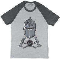 Fortnite - Black Knight - Teen T-Shirt - Grey/Charcoal (13-14 Years) - Cover