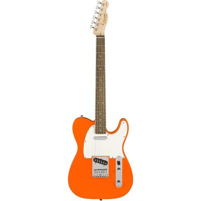 Squier Affinity Series Telecaster Electric Guitar (Competition Orange)