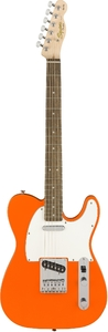 Squier Affinity Series Telecaster Electric Guitar (Competition Orange) - Cover