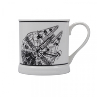 Star Wars - Millenium Falcon Line Art Mug - Cover