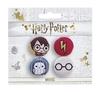 Harry Potter - Chibi Harry / Hedwig Badges