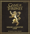 Game of Thrones - The House Lannister Lion 3D Mask & Wall Mount