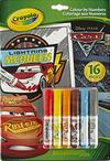 Crayola - Lightning Mcqueen - Disney Pixar Cars 3 Colour By Numbers Book