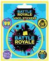 Fortnite - Battle Royale Vinyl Sticker Sheet of 5 Individual Stickers