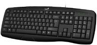 Genius KB-128 Ergonomic Smart USB Keyboard - Black - Cover