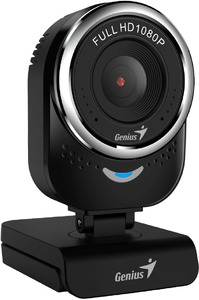 Genius QCam 6000 1080p FHD Webcam - Black - Cover