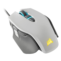 Corsair - M65 RGB ELITE Tunable FPS Gaming Mouse - White - Cover