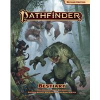 Pathfinder: Second Edition - Pathfinder Bestiary (Role Playing Game)